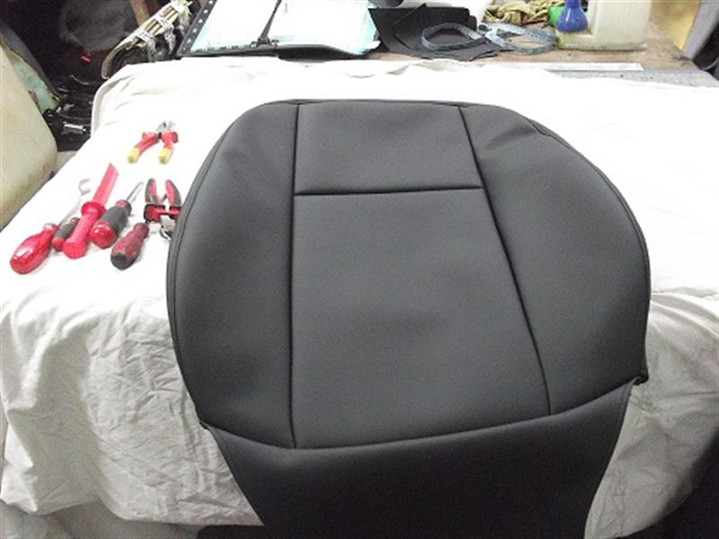 Seats covers on mercedes c class abela upholsterer for Seat covers for mercedes benz c class