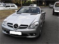 Mercedes Benz SLK Leather Restoration & Cabrio Hood Service